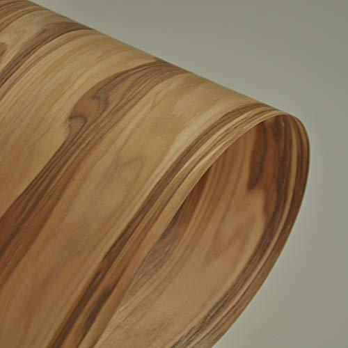 NO LOGO 1pc Apple-Holzfurnier rekonstituiert Veneer