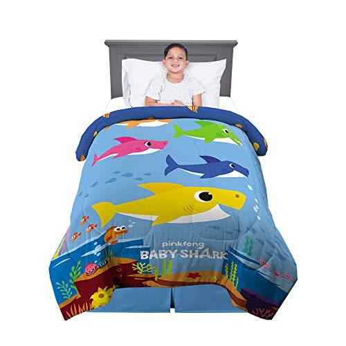 Baby Shark Super Soft Plush Throw Now $14.88
