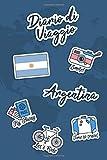 Diario di Viaggio Argentina: Diario di viaggio da compilare | 106 pagine, 15,24 cm x 22,86 cm | Per accompagnarvi durante il vostro soggiorno