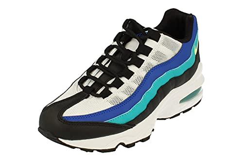 Nike Air Max 95 GS Running Trainers 905348 Sneakers Scarpe (UK 5.5 us 6Y EU 38.5, Black Ghost Green White 040)