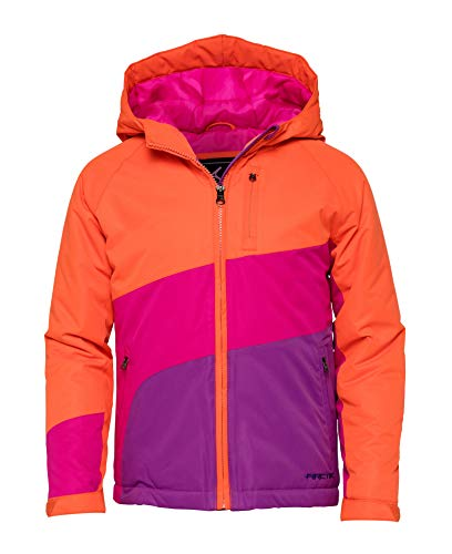 Arctix Girls Frost Insulated Winter Jacket, Clementine, X-Large