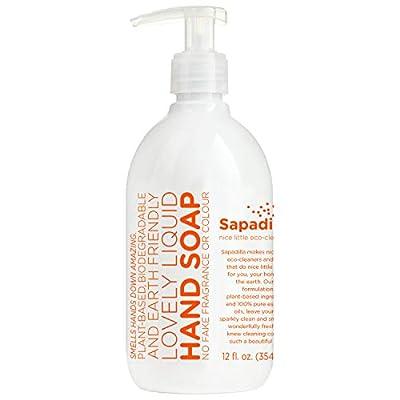 Sapadilla Grapefruit + Bergamot Biodegradeable Liquid Hand Soap Pump, 12 Ounce