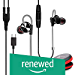 WeCool (Renewed) Mr. Bass W010 Unique Design Sports Metallic In-Ear USB Type C Earphone with Mic for Rich Basses and Noise Cancellation with One Plus 7/7 Pro/6T with Carry Case (Black)