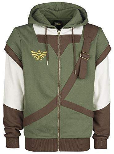 The Legend of Zelda Link - Cosplay Kapuzenjacke Multicolour S