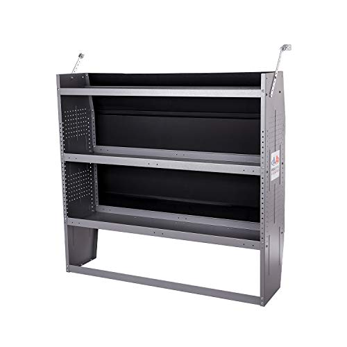 SH-4603 Steel Low/ Mid/ High Roof Van Shelving Storage System Fits Transit, GM, NV, Promaster and...