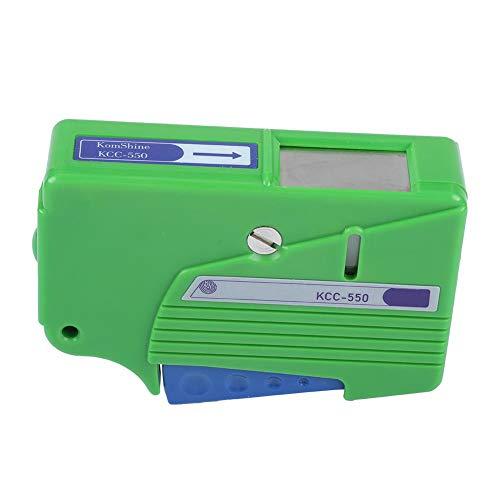 Reiniger für LWL-Steckverbinder, KC-550-LWL-Reinigungsbox, Single- und Multi-Mode-Kassetten-LWL-Steckverbinder Glasfaser-Reinigungstücher für FC/SC/LC/MU/D4/DIN (grün)