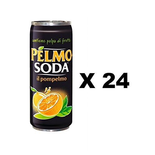 Pelmosoda Dose 24 x 330 ml. - Campari Group Orange Soda