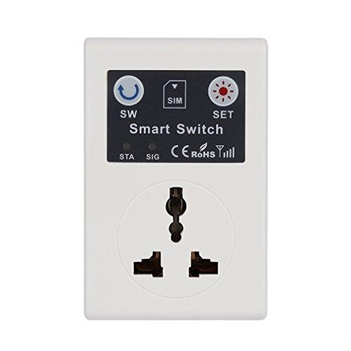 Teléfono móvil PDA gsm Inalámbrico RC Control Remoto Toma de Corriente Interruptor Inteligente Enchufe de EE. UU.