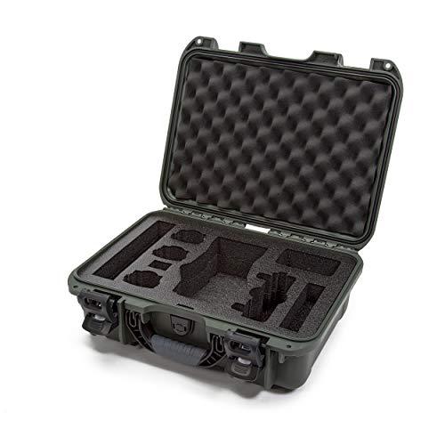 Nanuk Drone DJI Capa rígida à prova d'água com inserção de espuma personalizada para DJI Mavic 2 Pro/Zoom - Oliva