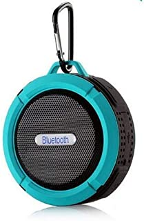 ZYZRYP HETNGSYOU Altavoz Bluetooth Speaker Mini Portable Waterproof Wireless Speakers Sound Box with Handsfree TF Card for Mobile Phone (Color : Blue, Set Type : Speaker)
