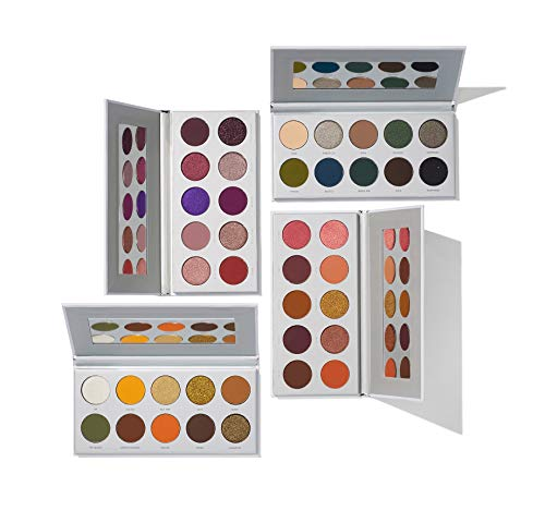 Morphe x Jaclyn Hill Eyeshadow Palette Collection - Four Epic Palettes Perfectly Curated into Bomb Color Stories for Endless Look