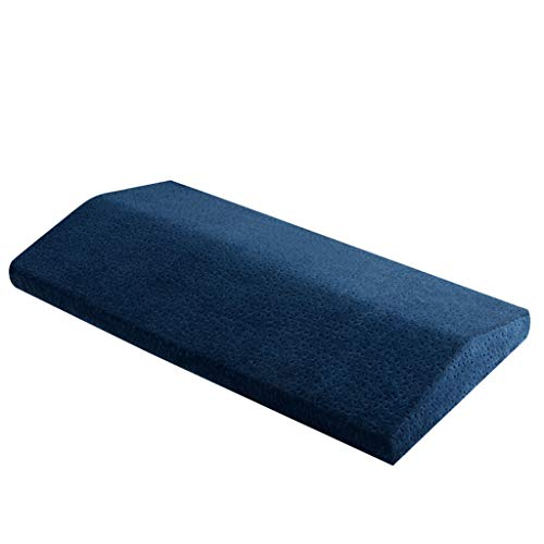 Fine Multifunctional Lumbar Support Cushion,Soft Memory Foam Sleeping Pillow for Hip,Sciatica and Joint Pain Relief,Orthopedic Side Sleeper Bed Pillow (Navy)