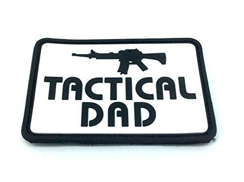 Tactical Dad Airsoft PVC Moral Parche