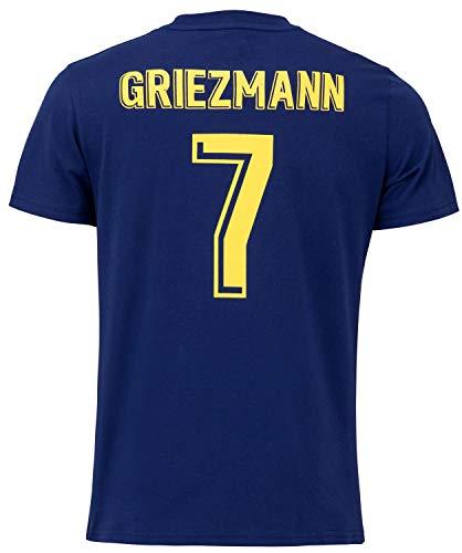 FC Barcelona - Camiseta de manga corta para hombre, Hombre, azul, extra-large