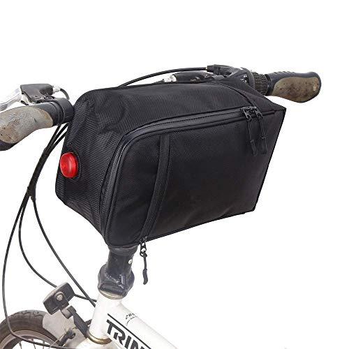 LQUIDE Vélo Avant Tube Supérieur Écran Tactile Sacoche De Selle Vélo Étanche Sac De Queue Sac De Bagages Cintre Zipper Poche Avant Voiture Sac D'installation Vélo Guidon Sac