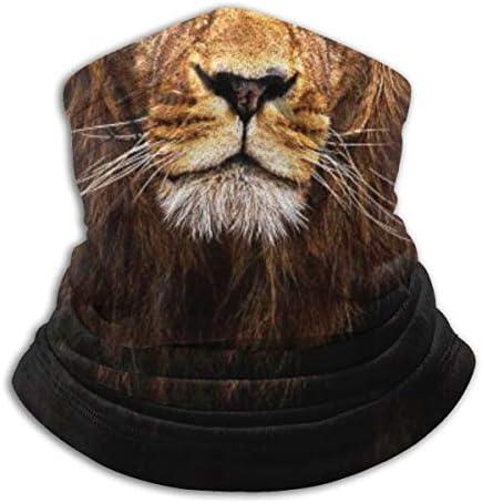 SARA NELL Fire Lion King Animal Neck Gaiter Headwear Face Sun Mask Magic Scarf Bandana Balaclava product image