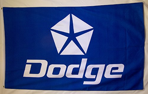 Dodge Flagge 3'x 5mit Pentastar Logo Indoor Outdoor Auto Banner