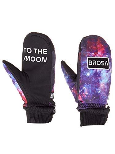 Bro Galaxy - zwart stuur het naar de maan snowboarden wanten