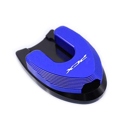 para HO-ND-A PCX 125 PCX 150 PCX125 PCX150 2018 2019 Motorcycle Kickstand Sidestand Stand Extension Ampliar Pad Hot Hot Hot Caballete Lateral (Color : Azul)