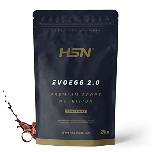 Proteína de Huevo de HSN Evoegg 2.0 | 100% Albúmina de Huevo en Polvo | Egg Protein | Para...