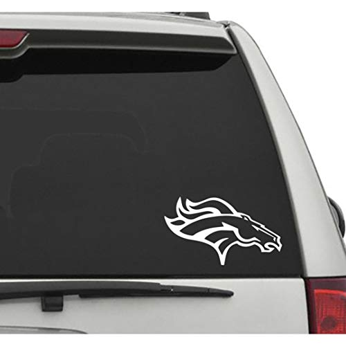 Seek Racing Denver Broncos Decal Sticker Football Sports CAR Truck Window Denver Broncos Car Decals