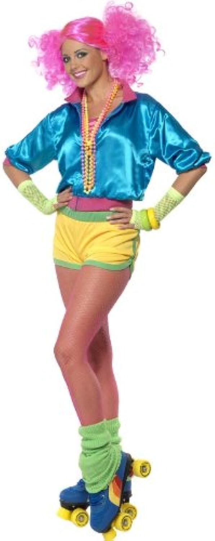 Smiffys Karneval Damen Kostüm Skater Girl sexy Neon Outfit Verkleidung Gr.S B00FQDEMKU Fairer Preis   | König der Quantität