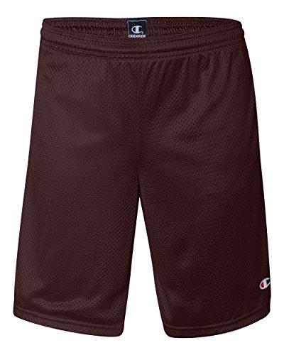 Champion Mens Long Mesh Shorts with Pockets
