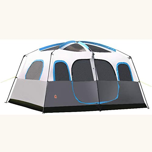 Dorling Kindersley Multimedia - DK Tenda Campeggio Esterno 8 Persone 10 Persone 12 Persone Due Camere Uno Hall Multi-Persona Campeggio Rain Tenda