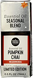 Whole Foods Market, Limited Edition Aromatherapy Essential Oil Blend, Warming Pumpkin Chai, 0.5 Fl O