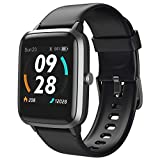 "LETSCOM Smart Watch, Fitness Trackers with Heart Rate Monitor Step Calorie Counter Sleep Monitor, 5ATM Waterproof Smartwatch 1.3"" Color Full Touch Screen, Activity Tracker for Women and Men fitness tracker for ios Jan, 2021"
