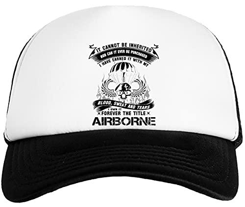 Rundi Airborne Infantry Mom Airborne Jump Wings Airborne Badge Airborne Brot Gorra De Béisbol para Niños Kids Baseball Ball Cap