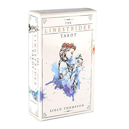 BRTSA Tarot of The Divine Una baraja y una guía inspirados en el folclore de Las deidades y los Cuentos de Hadas de Todo el Mundo Juego de Cartas del Tarot