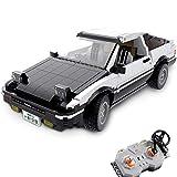 Drohneks Haunen AE86 Race Car Advanced Building Set, 1234Pcs 1:10 2.4G RC Super Sports Car Modelo Compatible con Lego Technic