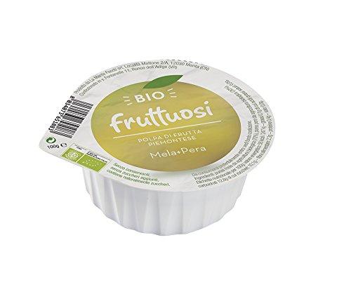 Fruttuosi Polpa di Mela, Pera Piemontese - 100 gr