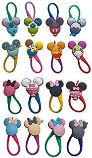 Avirgo Colorful Soft Zipper Pulls Decoration Charms Set of 16 Pcs