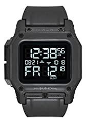 """REGULUS, ALL BLACK. High-tech and element-proof, the all black 46mm Regulus is a """"Basic Operation"""" watch, ultra- durable and designed with input from U.S. Special Operations personnel. THE DNA. Beyond the time, the Regulus has extreme 100m water-resi..."""