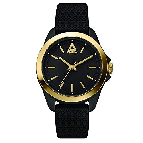 REEBOK Damen Analog Quarz Uhr mit Silikon Armband RD-PRI-L2-PBIB-B2