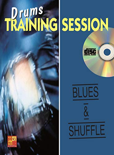 Drums training session / Blues & Shuffle - 1 Libro + 1 CD