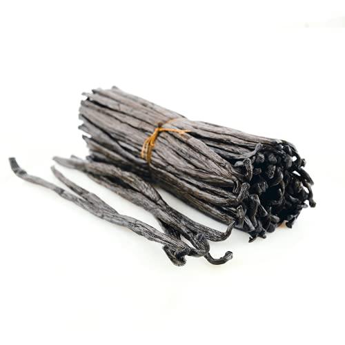 Gousses de Vanille Bourbon de Madagascar BIO - Qualité Noir Gourmet - 10 gousses