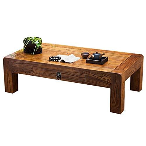 Couchtisch Quadratischer Tisch Balkon Beiläufiger Kleiner Couchtisch Büro Teetisch Massivholz Beistelltisch Studie Computer-Schreibtisch Einfacher Kleine Esstisch Schreibtisch Kleiner Tisch Mit Schubl