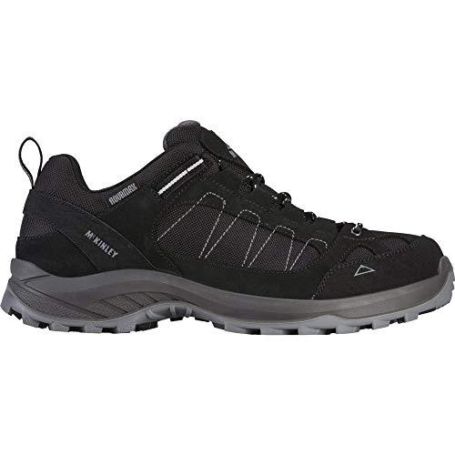 McKINLEY Outdoor-Chaussures Travel Comfort AQX, Climbing Shoe Homme, Grey Dark/ANTHRACIT, 47 EU