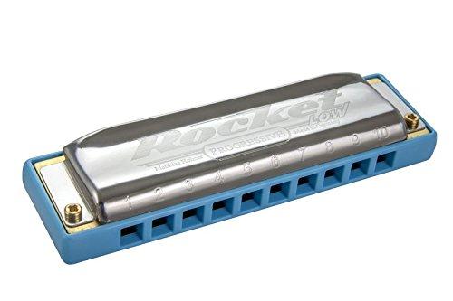 Hohner Armónica baja cohete - clave de baja C