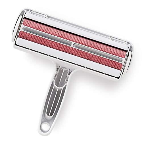 KittyDoo PAC PAK Fusselbürste Haarroller - Original - ehem. Paku Paku Roller für Haustierhaare, Tierhaare, Katzenhaare, Hundehaare, Tierhaarentferner Fusselroller für Möbel, Sofa, Teppich