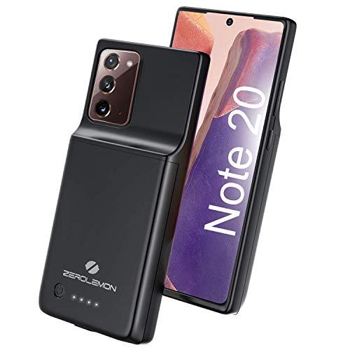 ZEROLEMON Galaxy Note 20 Battery Case 5000mAh, Fast Charging & Qi...