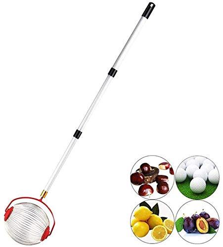 CASTAIN Rollsammler Haselnuss-Sammler Der Obstsammler für das Aufsammeln ohne Bücken, Kirschen und Äpfel aufsammeln | Ideal auch als Greifer für Golfbälle, Tennisbälle