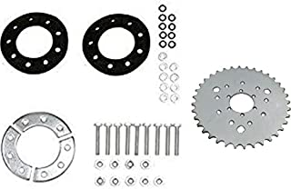 CDHPOWER Multifunctional High Performance 36 Teeth Sprocket with Sprocket Installation Set -80CC Gas Motorized Bicycle