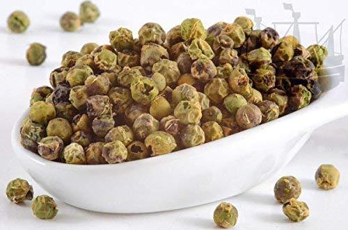 Pfeffer grün, ganz, -luftgetrocknet-, 1. Sorte, für Fleisch, Salat, Erdbeeren und Obstsalat, 75g - Bremer Gewürzhandel