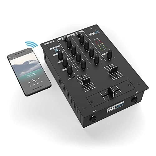 Reloop RMX-10 BT 2-Kanal Bluetooth DJ-Mixer mit eingebauter Bluetooth-Konnektivität, schwarz