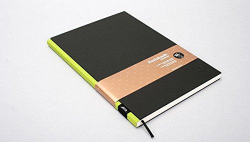 Notizbuch BerlinBook XL, Schwarz