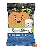 Russell Stover Marshmallow Covered in Milk Chocolate Pumpkin Shaped 18 count